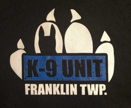 Franklin Township Police are selling T-shirts and sweatshirts featuring their logo to support the two new K-9 teams.