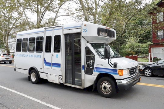Clarkstown Mini-Trans bus on Strawtown Rd in West Nyack on Friday, September 28, 2018.