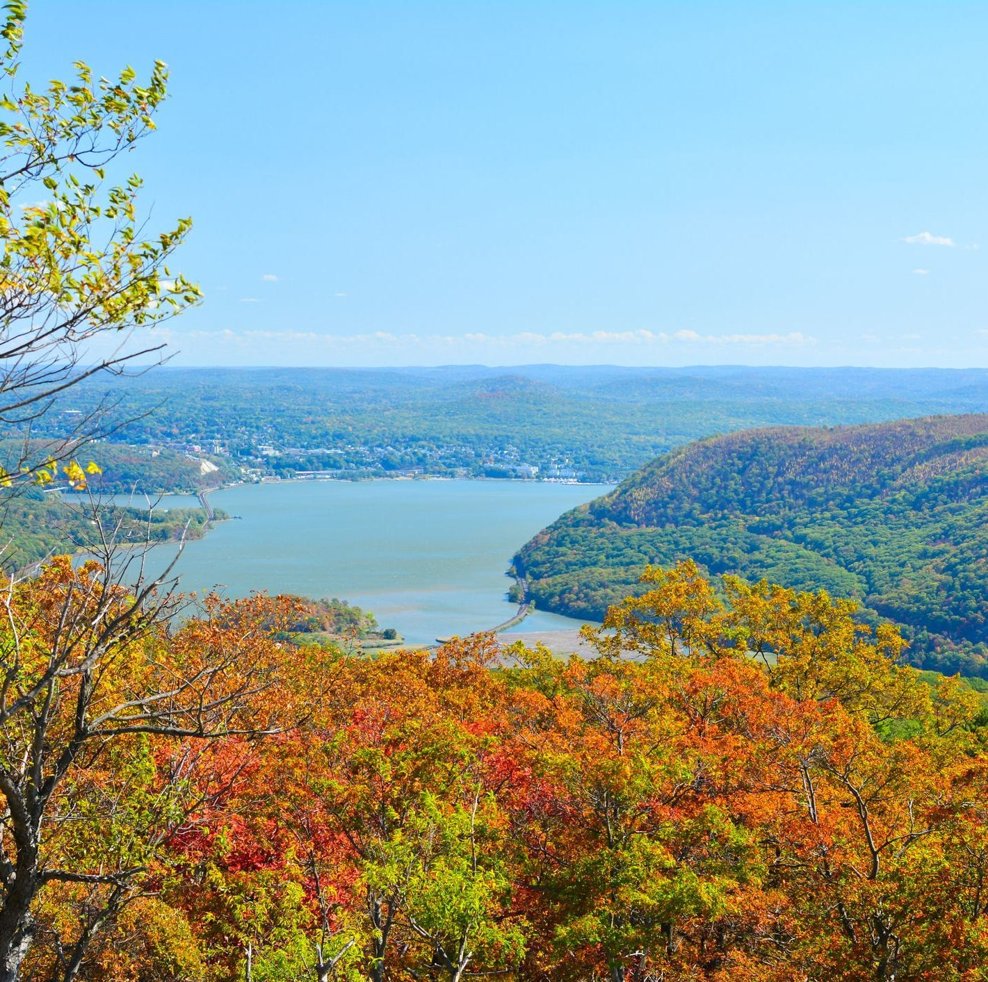 NY Fall Foliage 2018: Plan a ride to Bear Mountain State Park