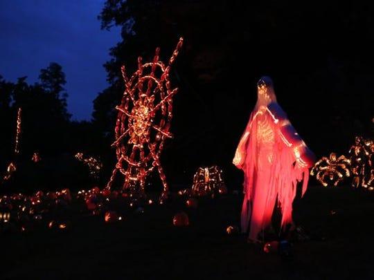 Scenes from The Great Jack O'Lantern Blaze