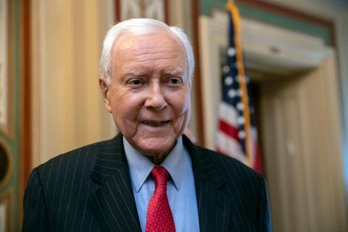 Sen. Orrin Hatch, R-Utah, was among seven people named by President Donald Trump for the Presidential Medal of Freedom.