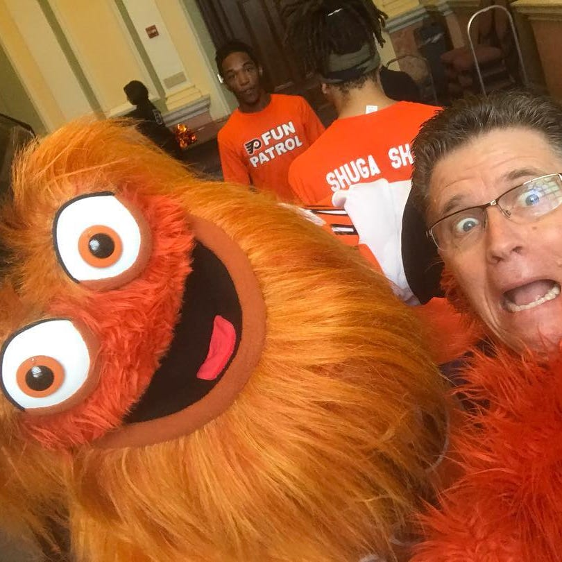 Gritty's Delaware daddy: Mascot's First State creator defends his googly-eyed brainchild