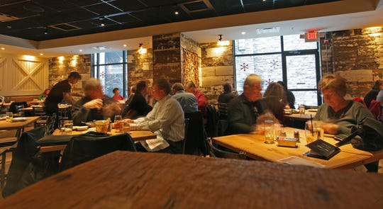 Patrons eat lunch at Taverna, an Italian eatery from the Platinum Dining Group which opened in 2012. A second Taverna is coming to the Talleyville area.