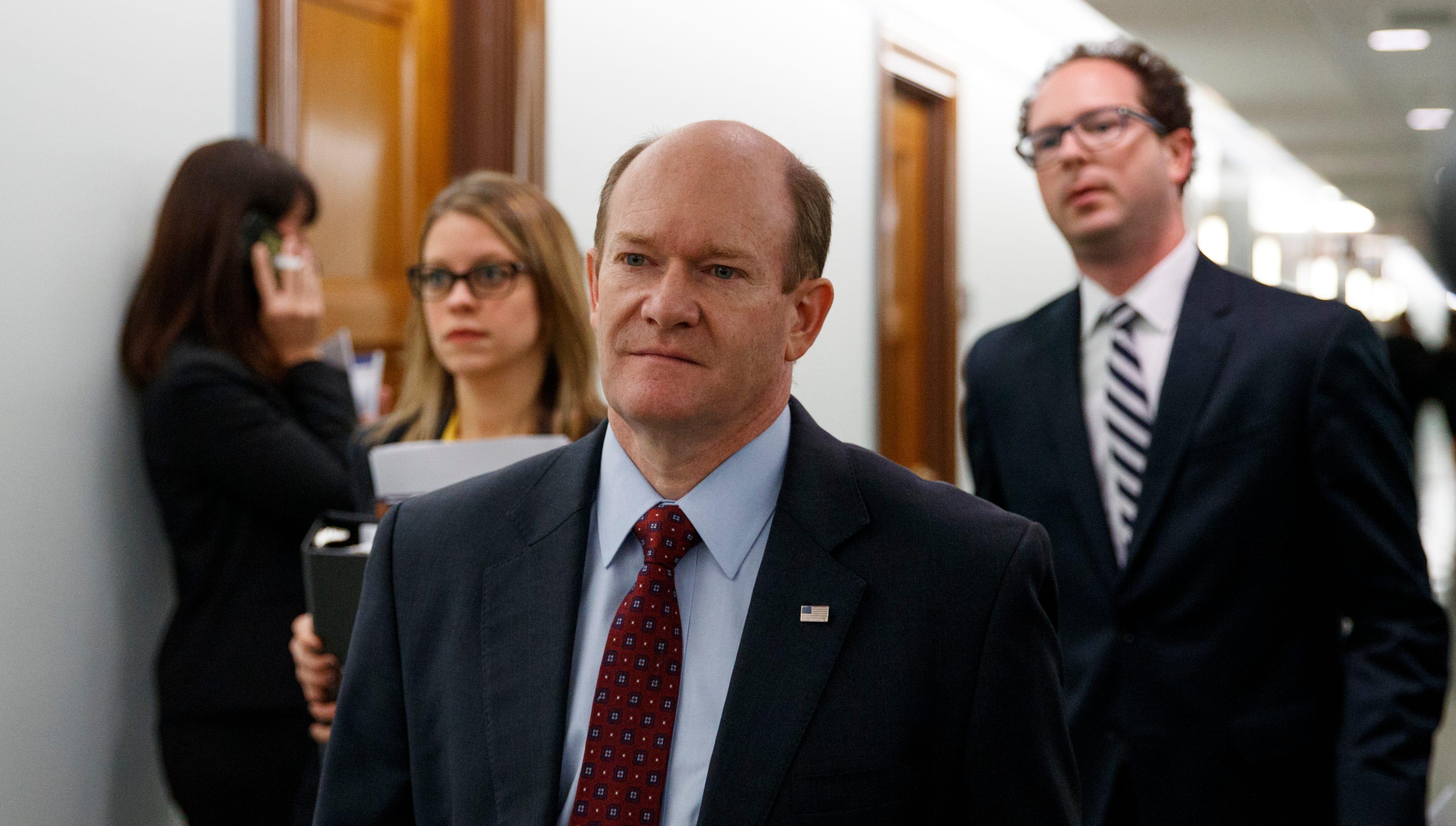 Analysis: Sen. Chris Coons' reputation for bipartisanship pays off spectacularly
