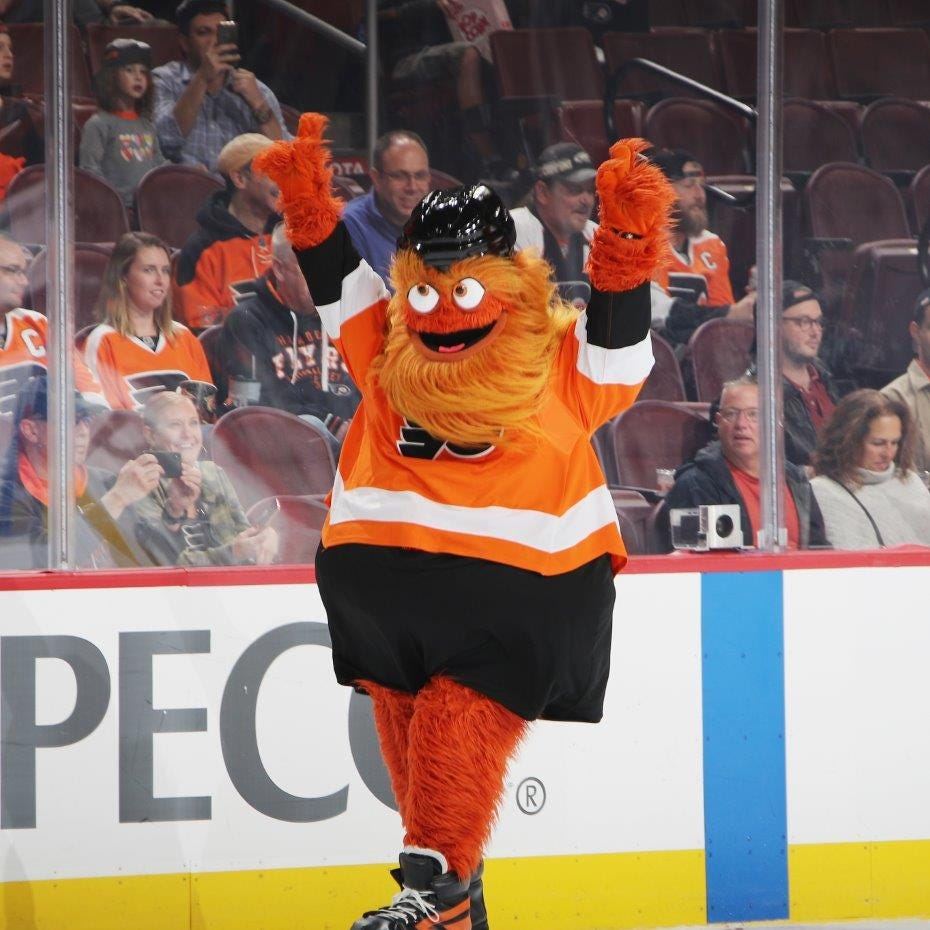 Philadelphia passes an official resolution welcoming Flyers mascot Gritty