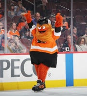 David Raymond said the Philadelphia Flyers knew there would be some pushback to the team's new mascot, Gritty. There was, but he's also been embraced.
