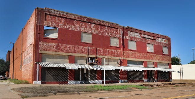 This large building located in the 500 block of Ohio Street is one-of-36 structures that could be demolished after a public hearing to be held after the city council meeting.