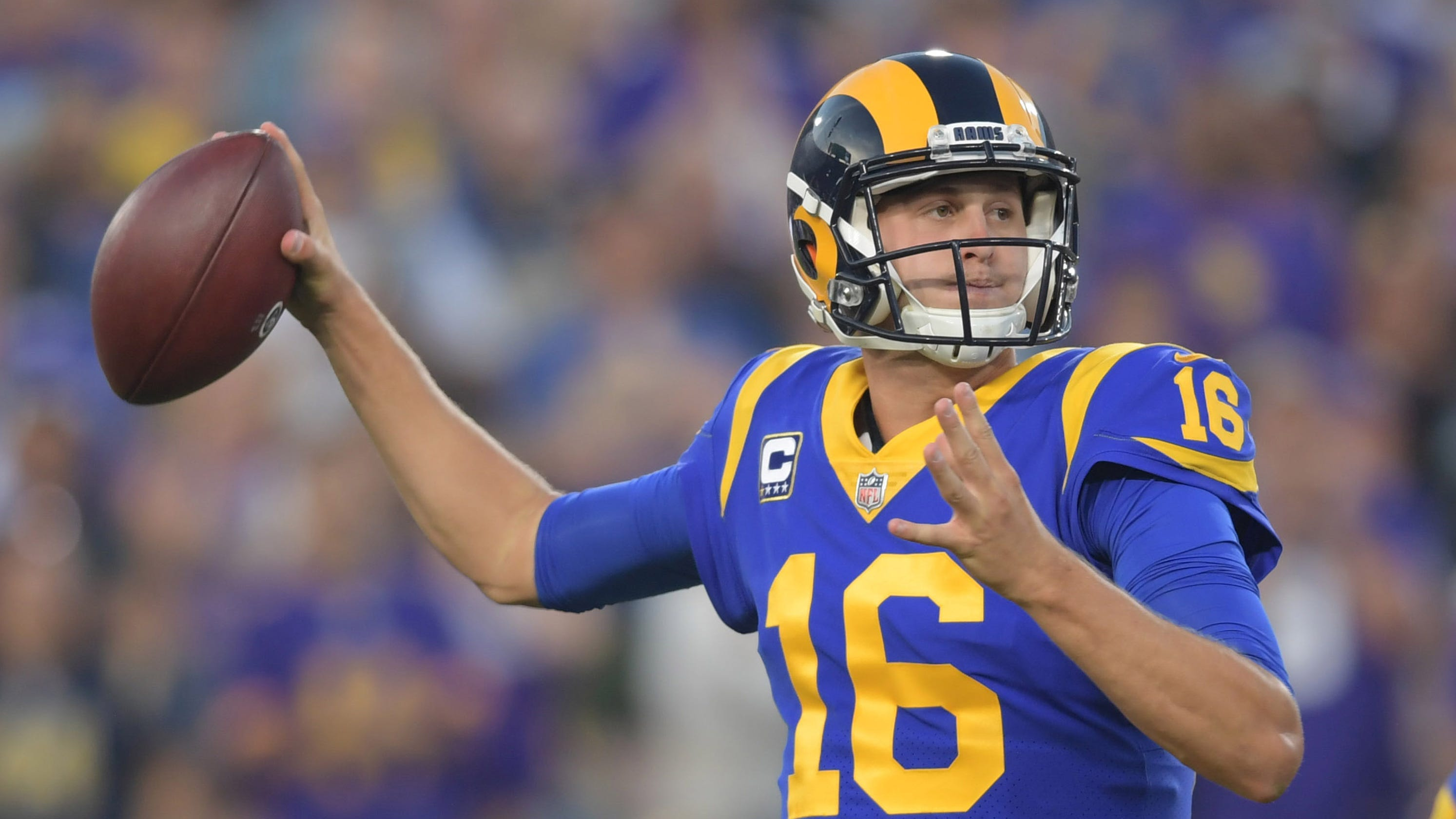 Jared Goff s big night helps Los Angeles Rams win shootout against  Minnesota Vikings f159c2ef2