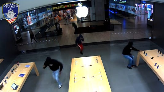 VIDEO THUMB - Apple store robbery