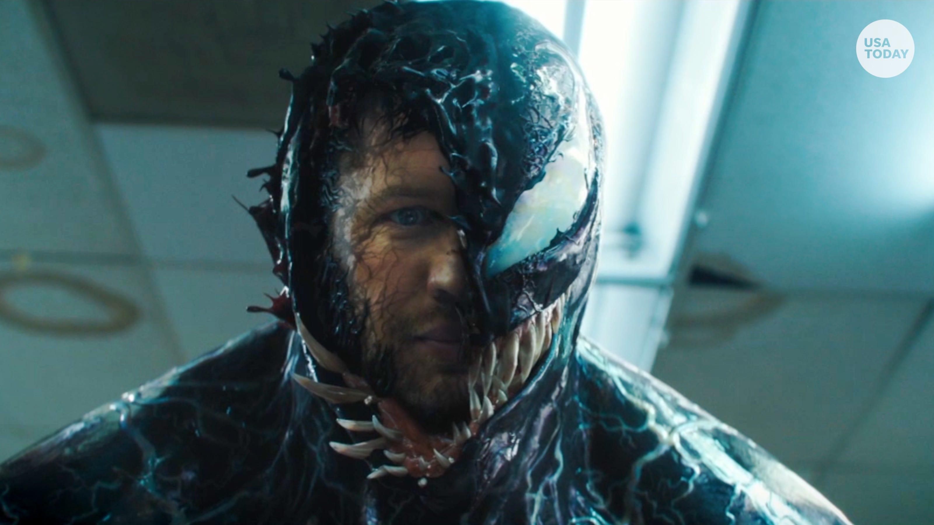 Tom Hardy transforms to 'Venom'