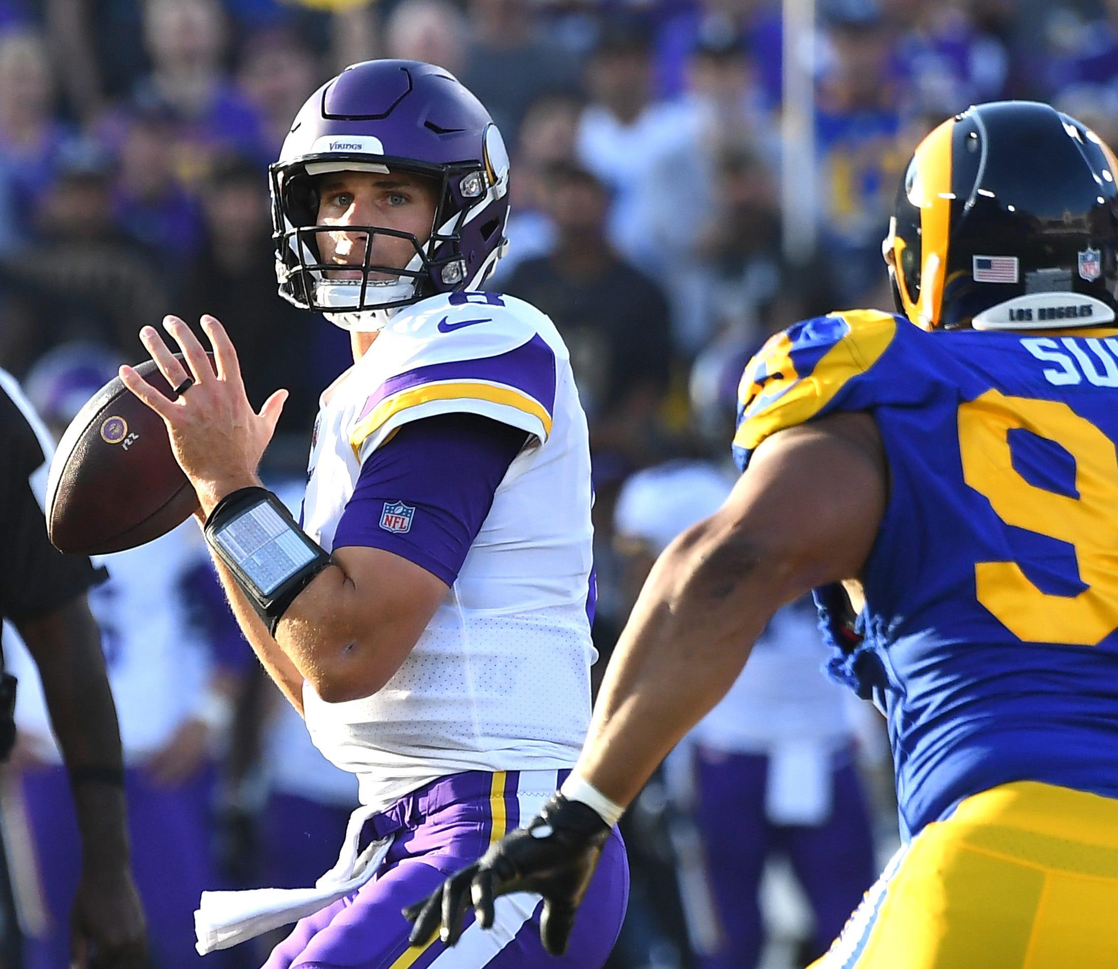 Nfl Minnesota Vikings At Los Angeles Rams