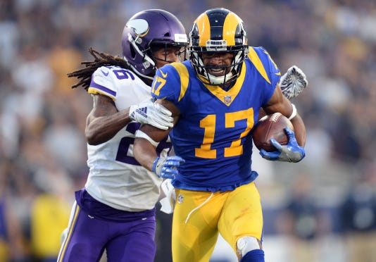 Usp Nfl Minnesota Vikings At Los Angeles Rams S Fbn Lar Min Usa Ca