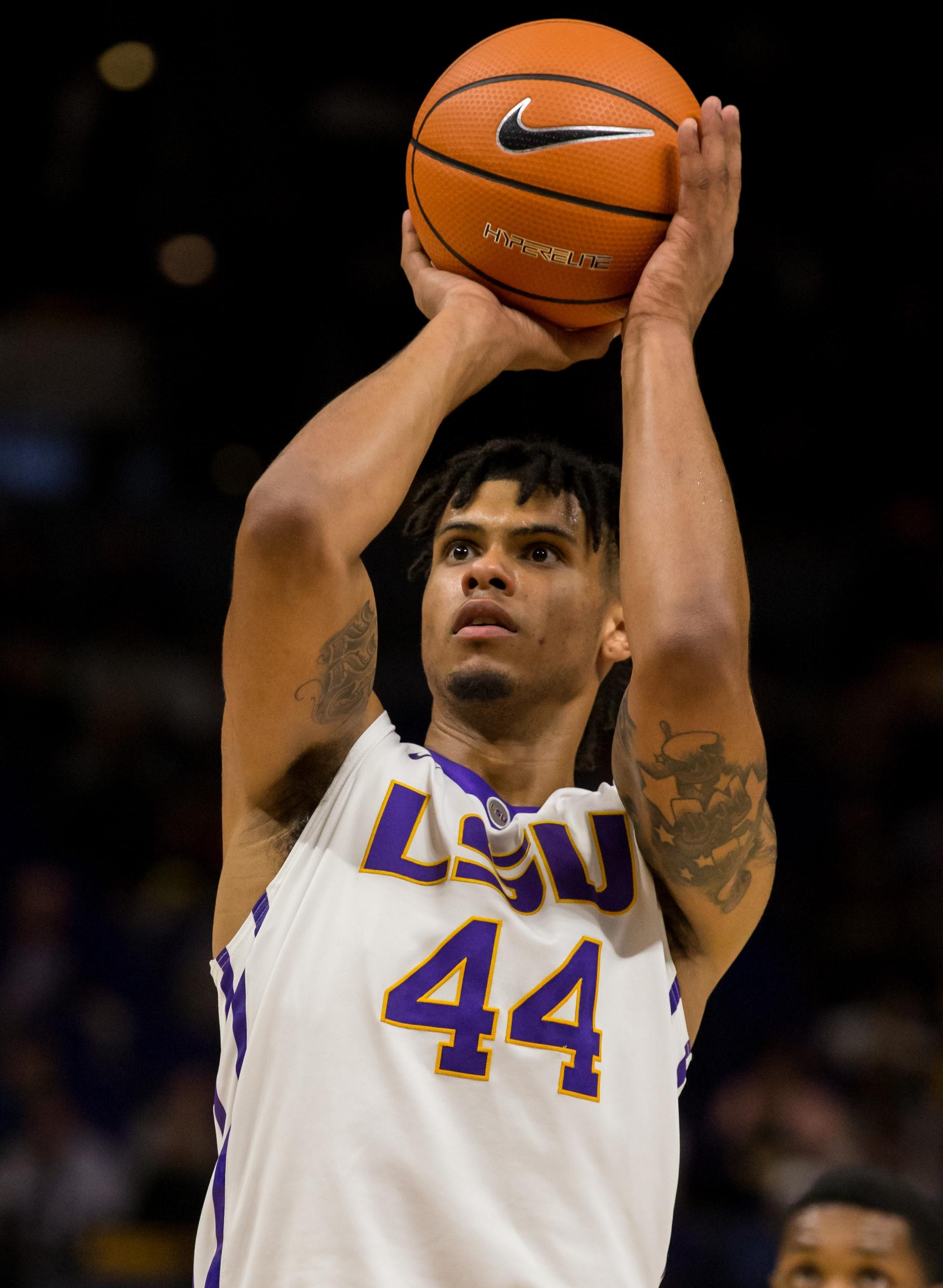 Ncaa Basketball Alcorn State At Louisiana State