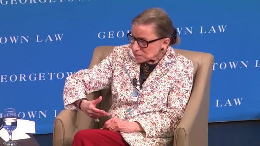 Ruth Bader Ginsburg on Me Too movement: 'Every woman of my vintage' effected