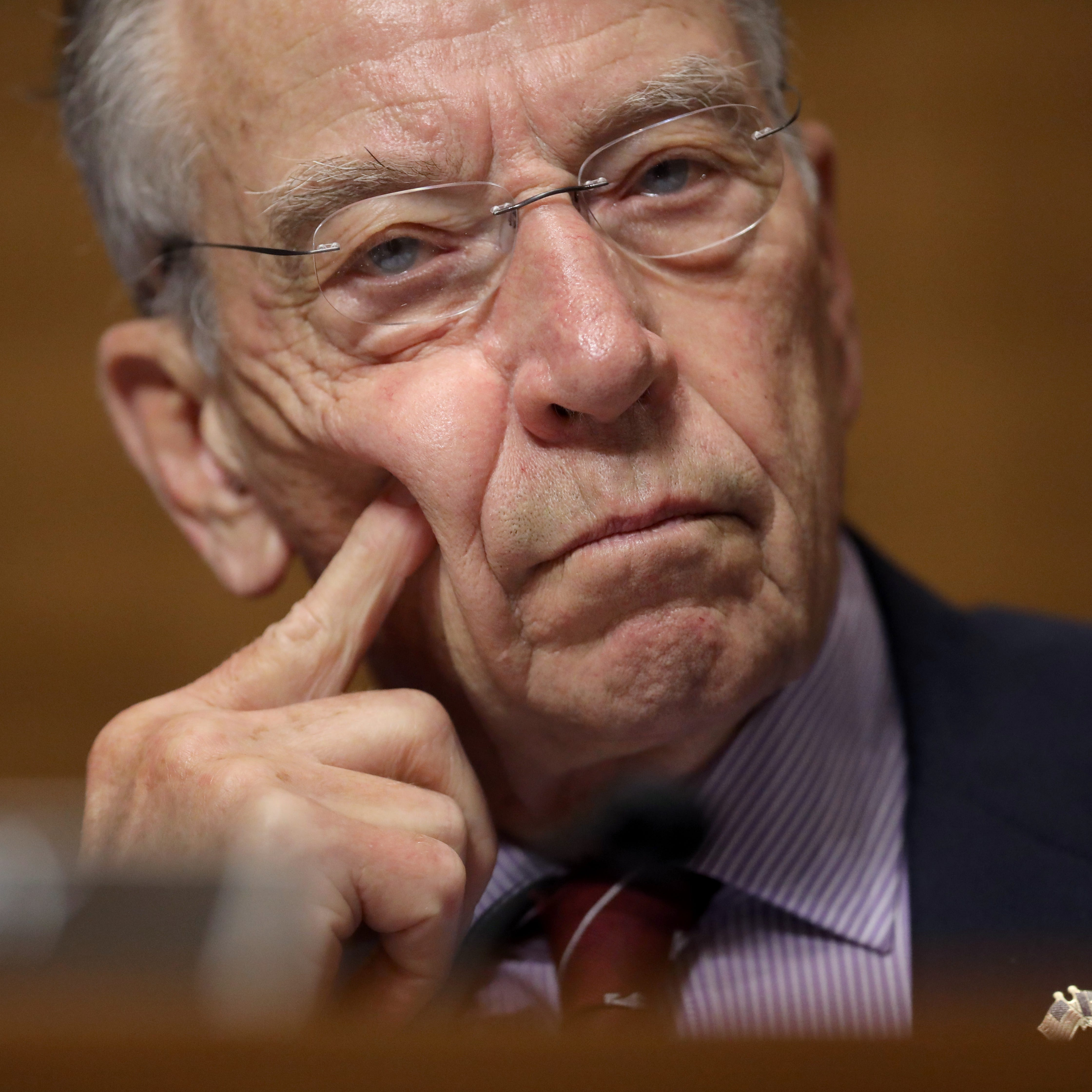 Chuck Grassley won't consider a Supreme Court nominee from President Trump in 2020