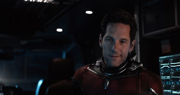 "Paul Rudd reprises his role as Ant-Man in next year's ""Avengers 4."""