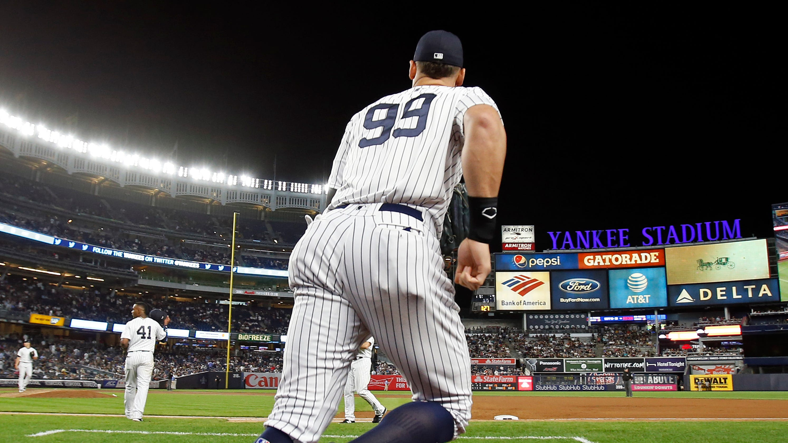 84efbbda856 Aaron Judge has MLB s most popular jersey for second year in a row