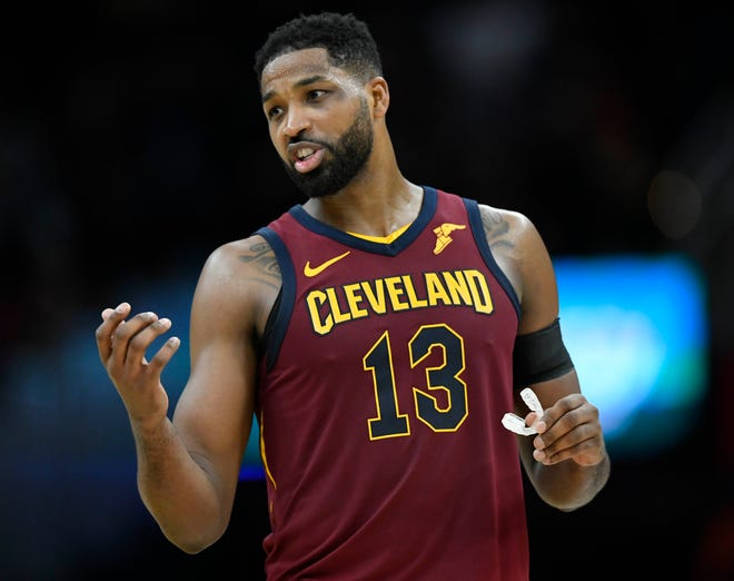 Tristan Thompson and the Cavaliers are projected to be a towards the bottom of the Eastern Conference this season.