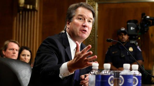 Supreme Court nominee Brett Kavanaugh called the...