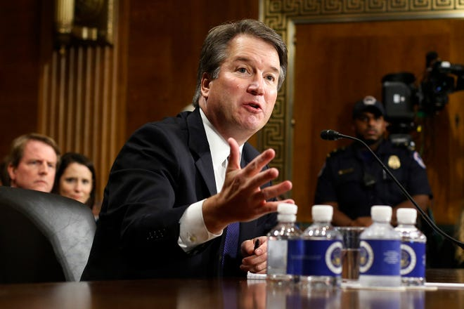 "Supreme Court nominee Brett Kavanaugh called the hearings a ""circus"" when he spoke on Thursday."