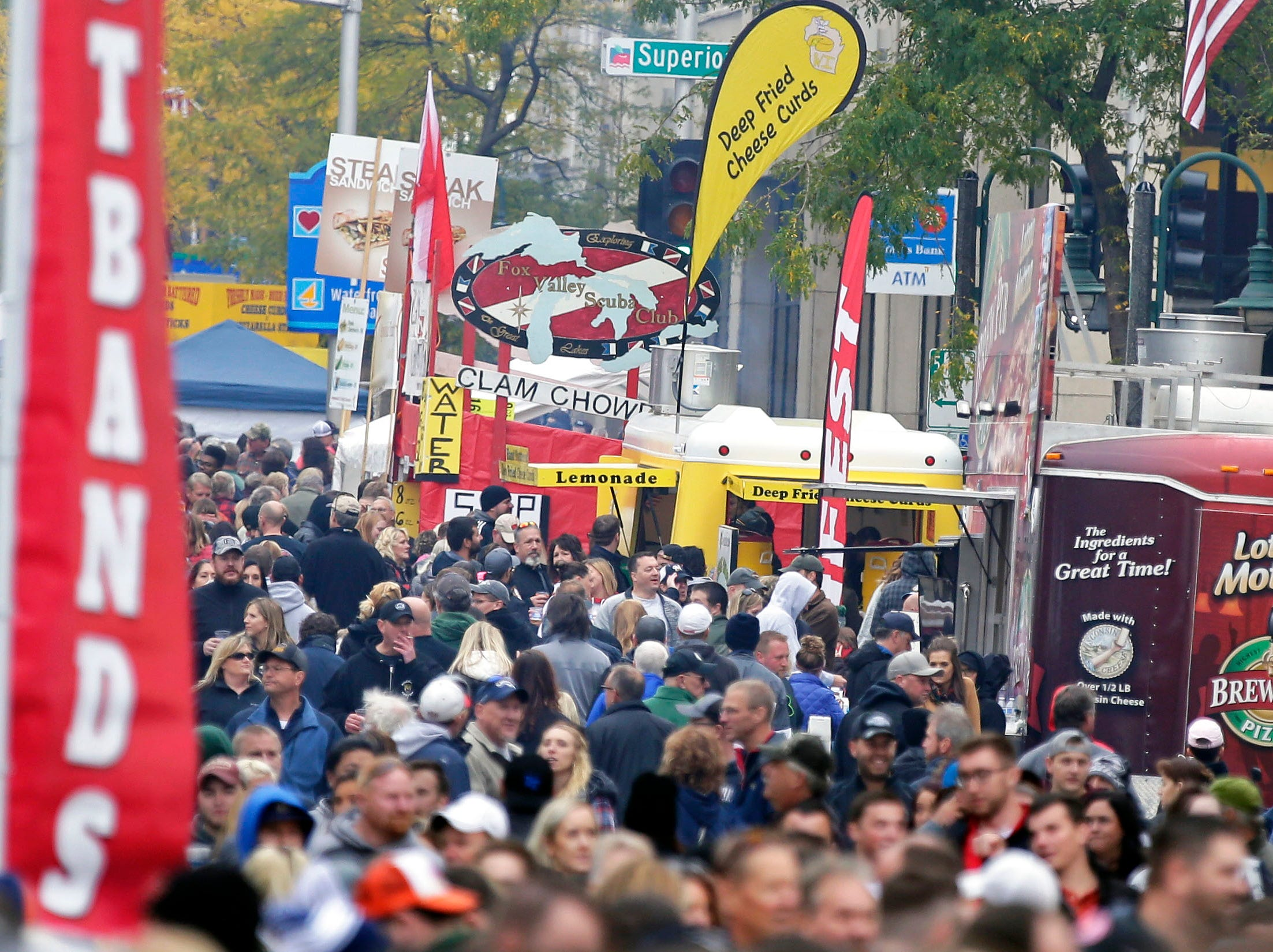 Octoberfest 2018 takes place Saturday, September 29, 2018, in downtown Appleton, Wis.