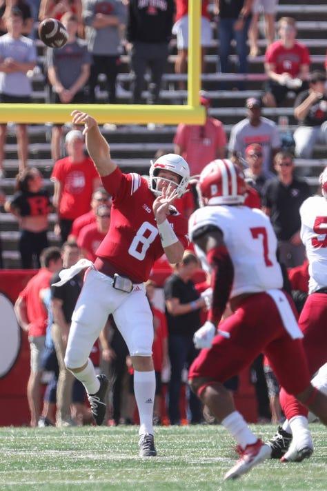 Ncaa Football Indiana At Rutgers