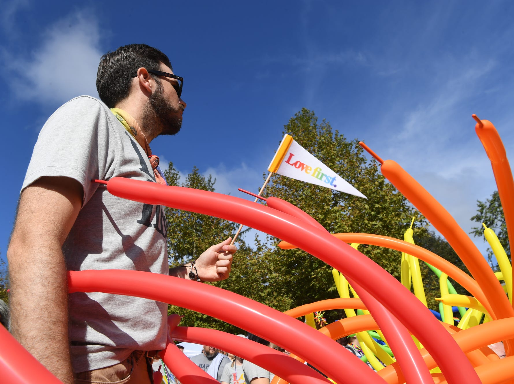 Scenes from the Blue Ridge Pride Festival in downtown Asheville Sept. 29, 2018.