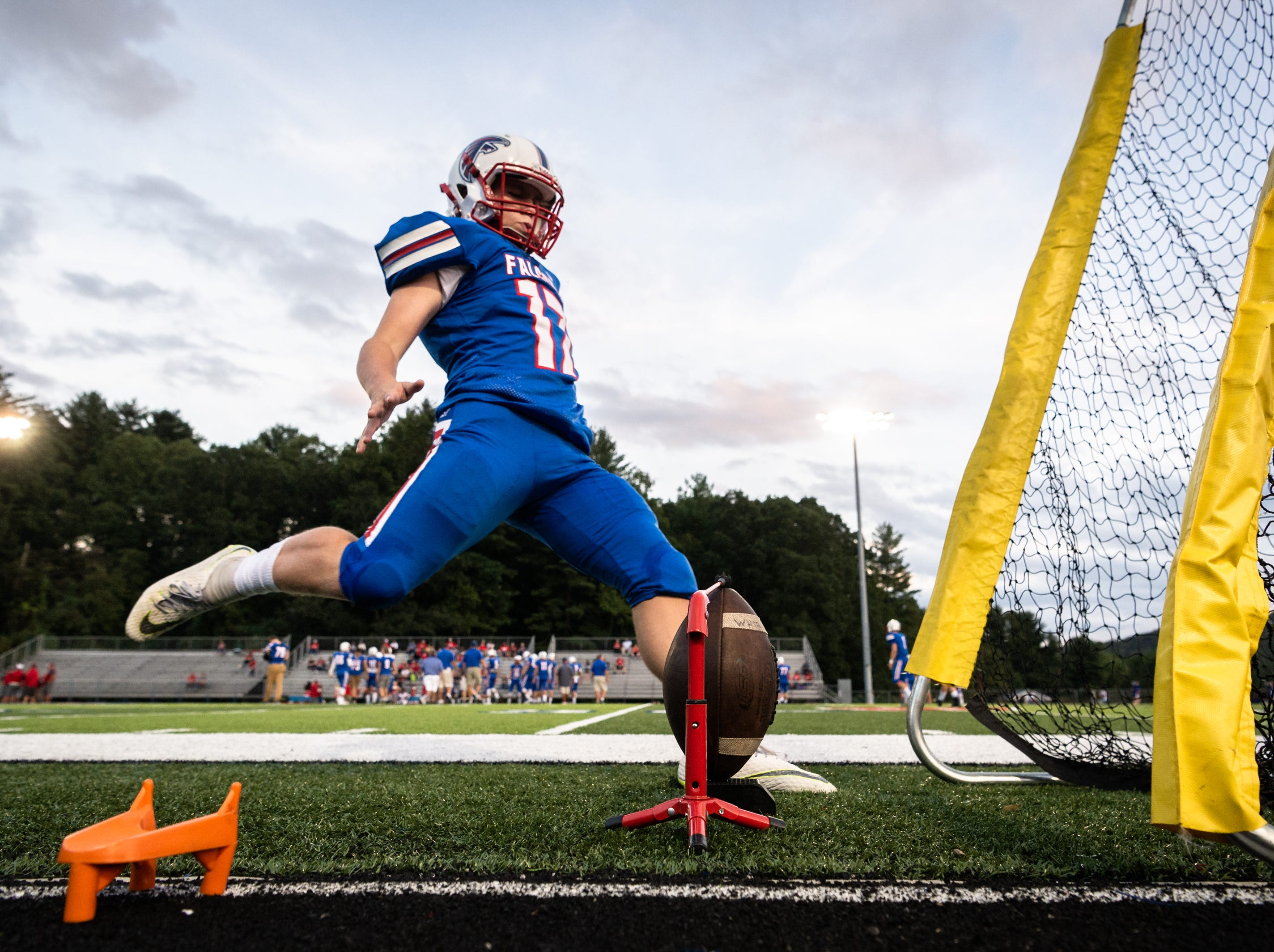 West Henderson hosted Erwin for their Friday night game, Sept. 28, 2018.