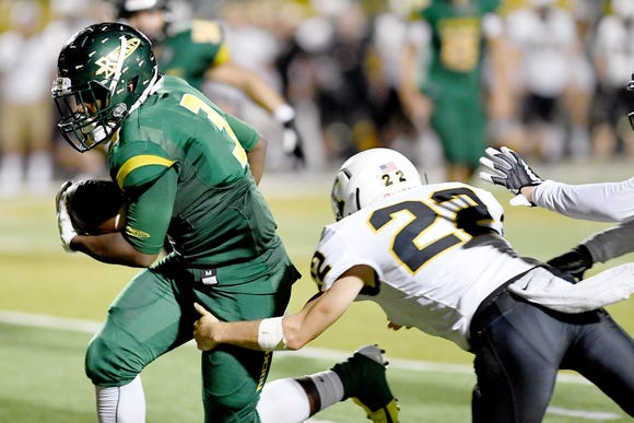 Reynolds defeated Tuscola 37-0 in their game at Reynolds High School on Sept. 28, 2018.