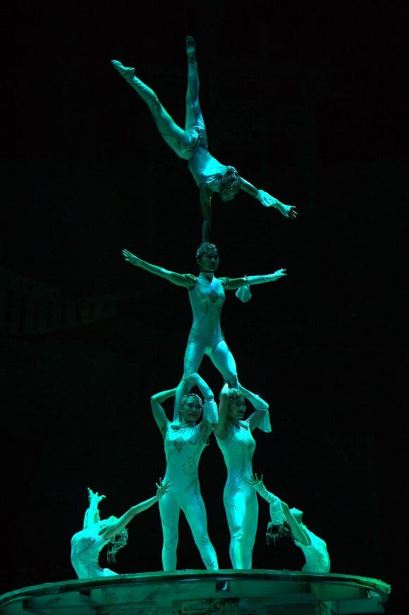 The New Chinese Acrobats open the Admiral Theatre's 2018-19 season with a performance Oct. 5.