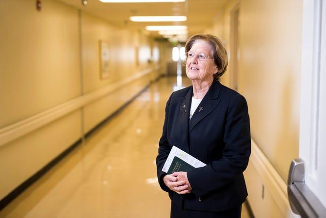 Sister Joan Grace is chaplain at Rockledge Regional Medical Center and Melbourne Regional Medical Center.