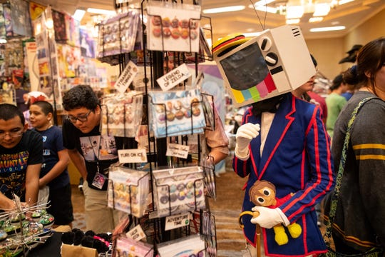 Cosplayers during Realms Con 2018 at the Omni Corpus Christi on Saturday, Sept. 29, 2018.