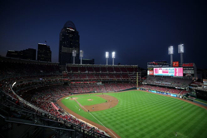 A general view of Great American Ball Park.