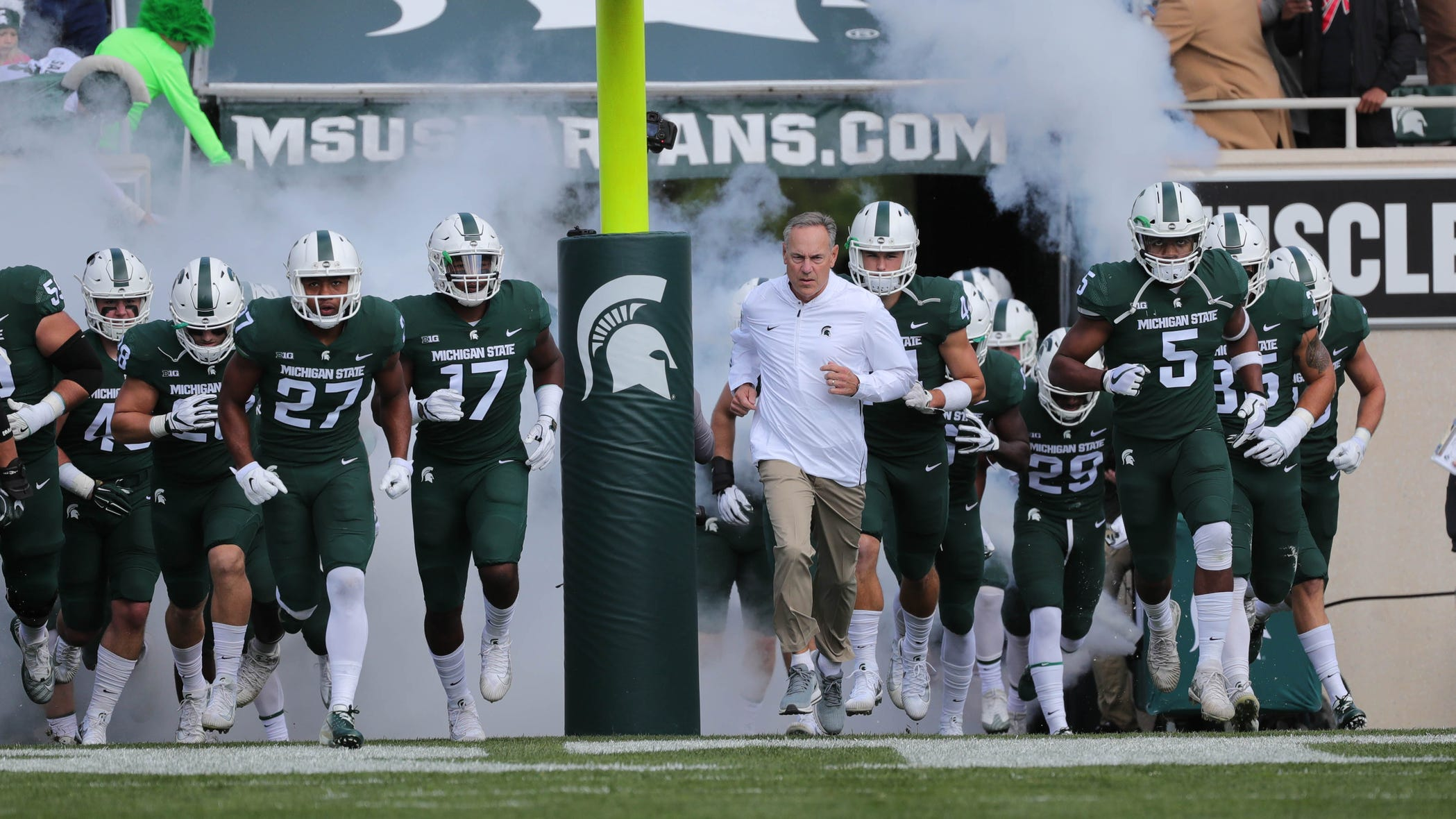 Michigan State Spartans Football Schedule 2019
