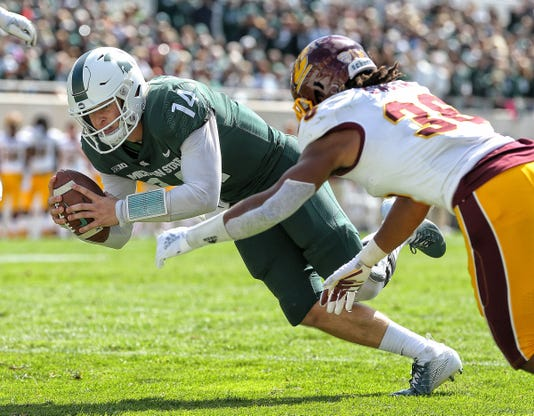 Ncaa Football Central Michigan At Michigan State