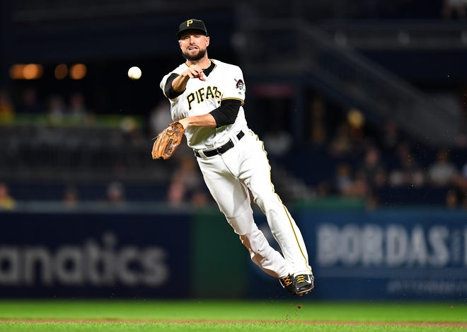 Pirates' Jordy Mercer could be a potential shortstop target for the Tigers.
