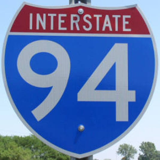 Lanes of I-94 close in Detroit over the weekend