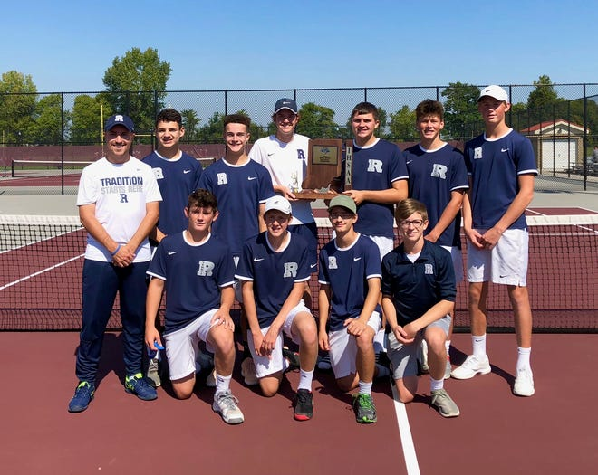 The Reitz Panthers are boys tennis sectional champions for the first time.
