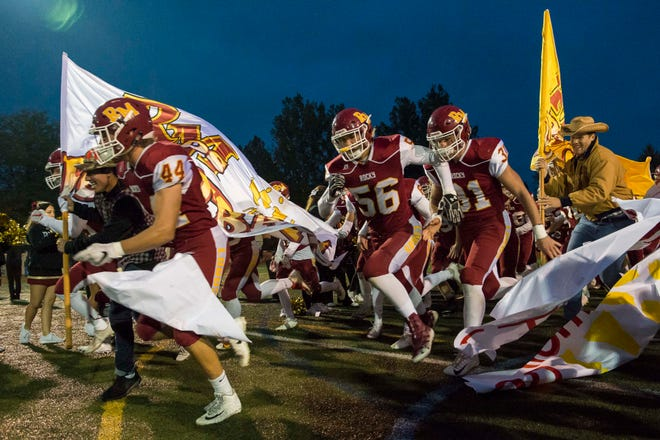 The Rocky Mountain football team faces crosstown rival Fossil Ridge at 7 p.m. Friday night at French Field.