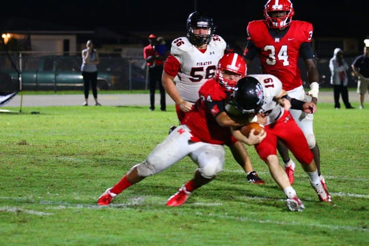 North Fort Myers took care of district rival Port Charlotte 49-13 on Friday, Sept. 28.