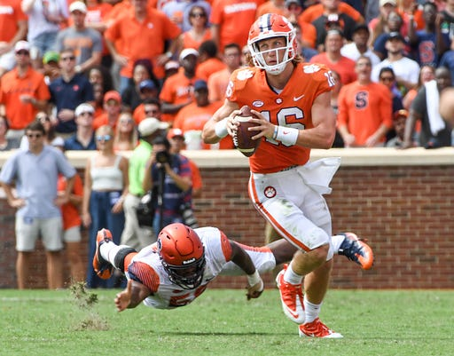 Syracuse At Clemson Football