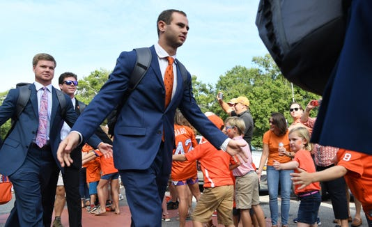 Syracuse At Clemson Football Tiger Walk