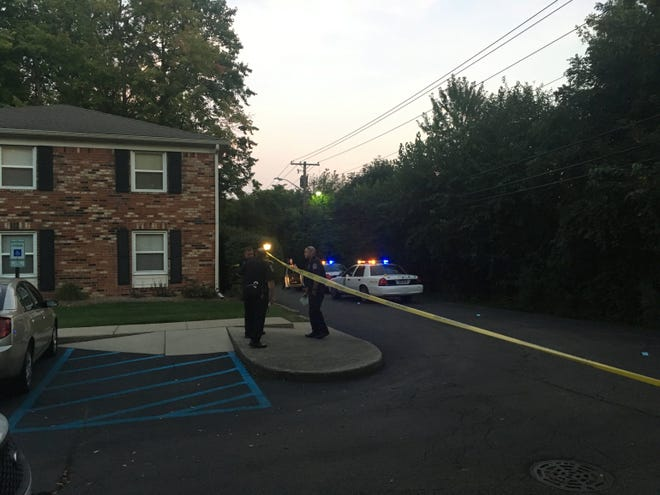 An as-yet unidentified man died of his injuries, Indianapolis police said, in a shooting in the 1200 block of West 75th Court Terrace on Friday, Sept. 28, 2018.