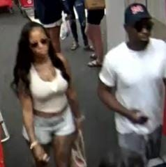 The Jackson Police Department is searching for these two persons of interest in a credit card and identity theft case. The pair were captured on a security camera at Target on Stonebrook Place in Jackson, Tenn.