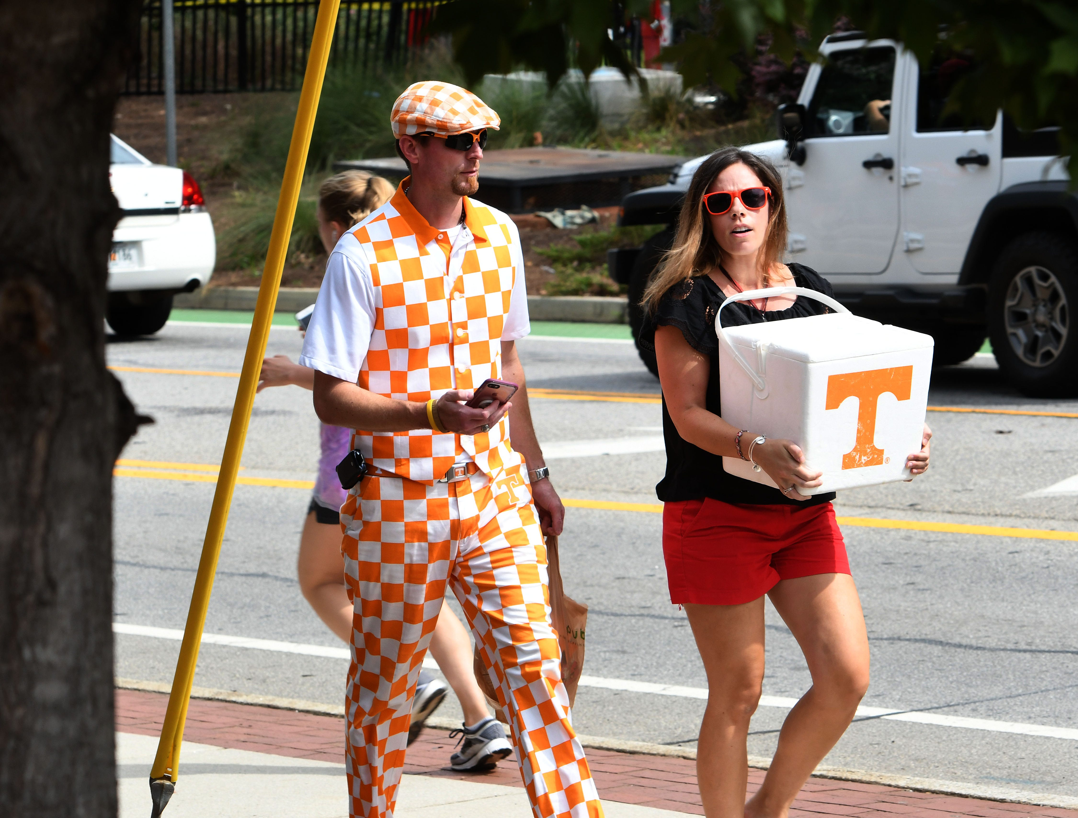 Tennessee fans were scarce during pre-game activities before the Georgia game Saturday, September 29, 2018 at Sanford Stadium in Athens, GA.
