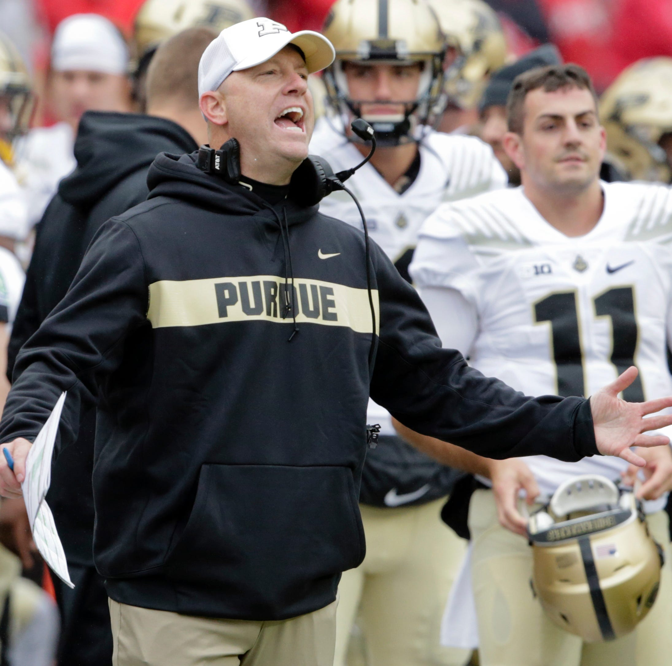 Jeff Brohm must keep Louisville distraction from wrecking Purdue's season