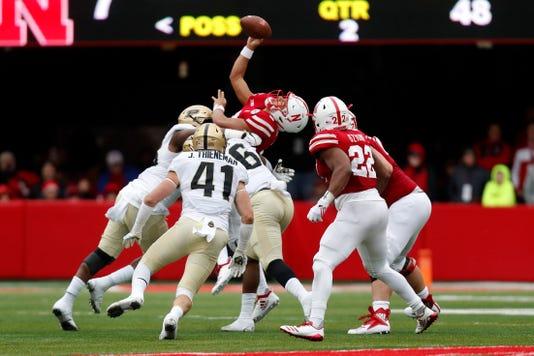 Ncaa Football Purdue At Nebraska
