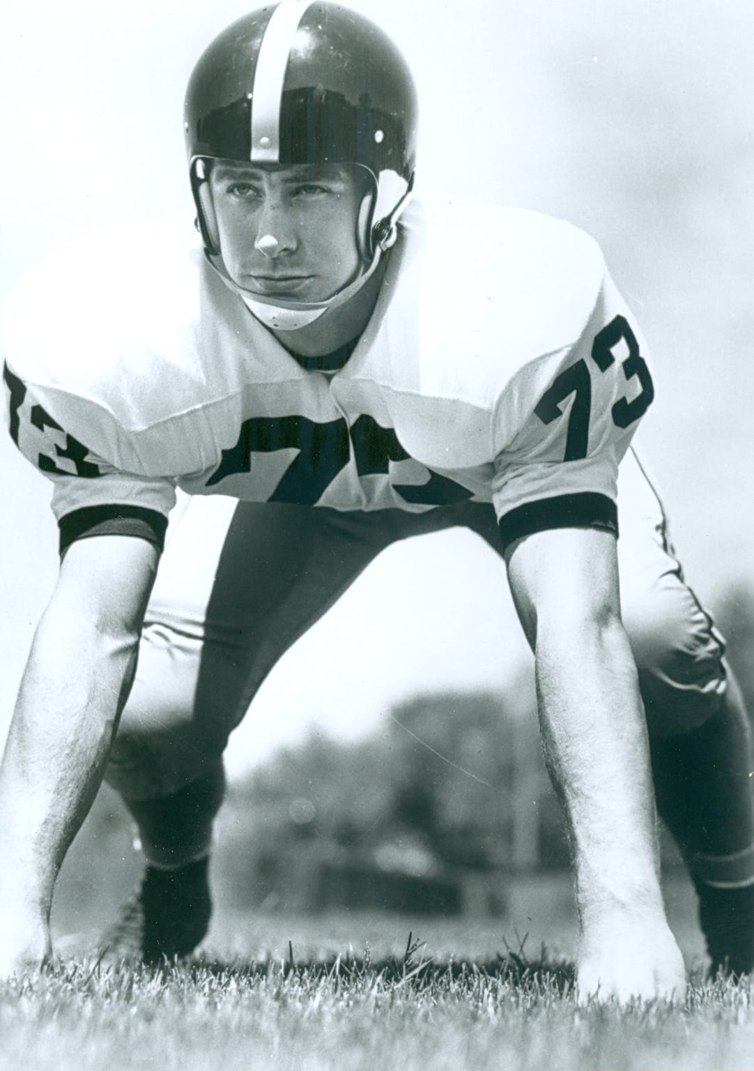 Don Brumm was an All-American defensive end at Purdue in 1962.