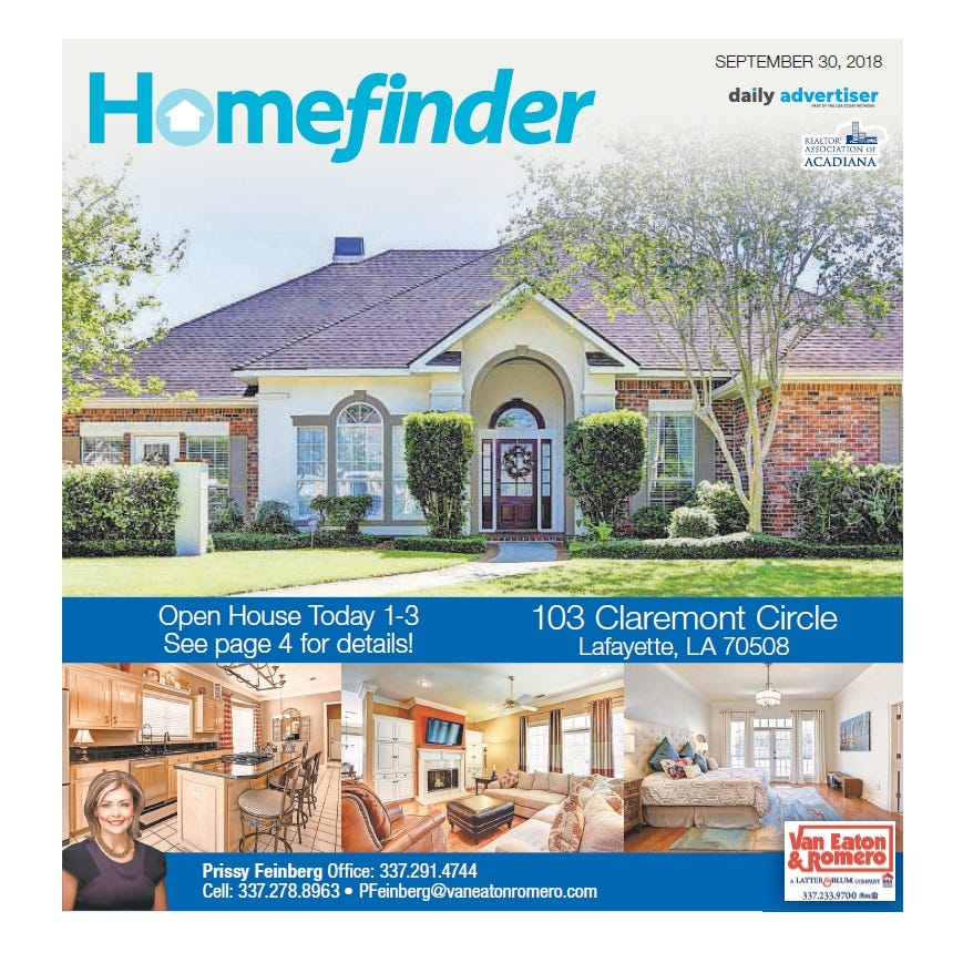 Homefinder: Sept. 30, 2018
