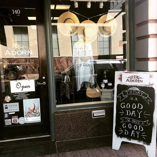 Adorn is full of clothes, jewelry, and unique gift items you can't find anywhere else.